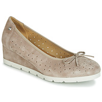 Chaussures Femme Ballerines / babies Stonefly MILLY 2 GOAT SUEDE Beige