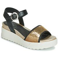 Chaussures Femme Sandales et Nu-pieds Stonefly PARKY 3 NAPPA/PAILETTES Noir
