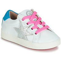 Chaussures Fille Baskets basses Acebo's STARWAY Blanc