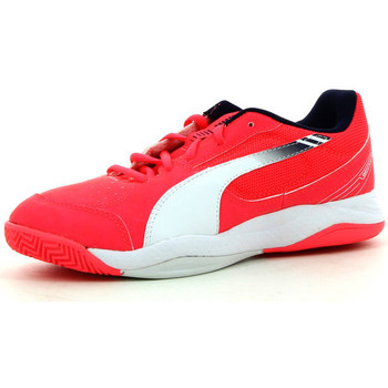 Chaussures Garçon Sport Indoor Puma Evospeed Indoor 5 3 V Junior Rouge