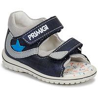 Chaussures Garçon Sandales et Nu-pieds Primigi 3377611 Bleu