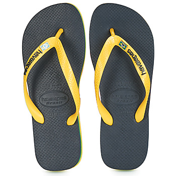 Chaussures Tongs Havaianas BRASIL LAYERS Marine