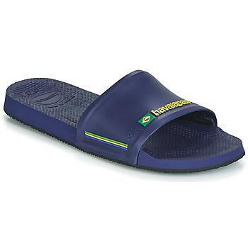 Chaussures Claquettes Havaianas SLIDE BRASIL Bleu
