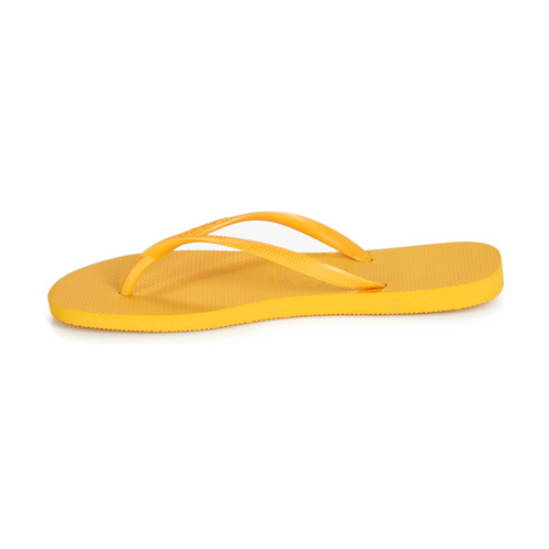 Havaianas Slim Jaune - Livraison Gratuite- Chaussures Tongs Femme 2299 3t675