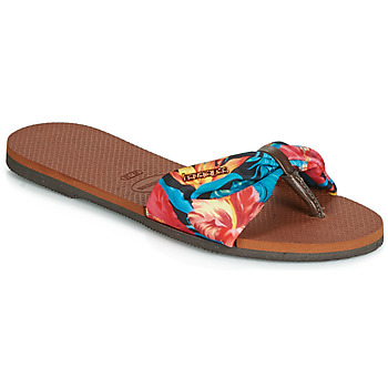 cd2adf4d09c Chaussures Femme Tongs Havaianas YOU ST TROPEZ Fleuri