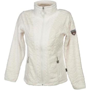 Vêtements Femme Polaires Eldera Sportswear Vienne blc fz cap polar l Blanc