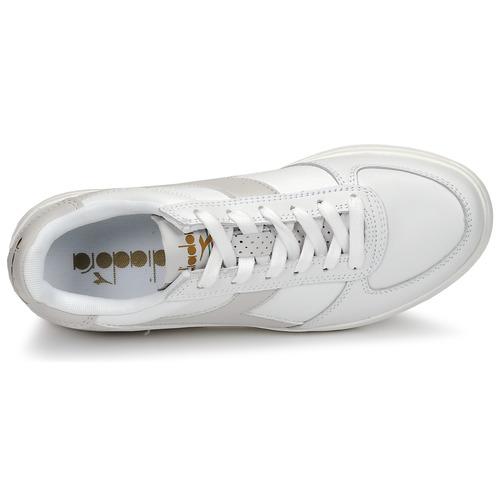 Elite BlancTaupe Wide Chaussures Basses Baskets Diadora Femme B 35ARLjq4
