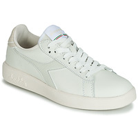 Chaussures Femme Baskets basses Diadora GAME WIDE Ecru / Gris