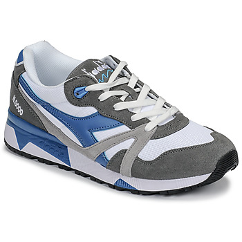Chaussures Homme Baskets basses Diadora N 9000 III Blanc / Gris / Turquoise