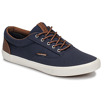 Chaussures Homme Baskets basses Jack & Jones VISION CLASSIC MIXED Marine