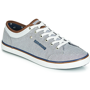 the best attitude e39a8 e520a Chaussures Homme Baskets basses Redskins GALETI Gris   Blanc