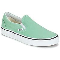 Chaussures Femme Slip ons Vans CLASSIC SLIP-ON Vert