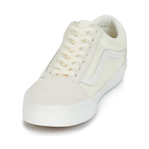 Old Femme Chaussures Skool Baskets Beige Basses Vans Aq5RSc34jL