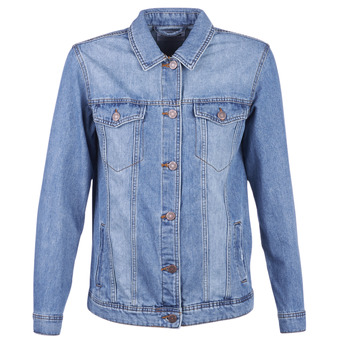 Vêtements Femme Vestes en jean Noisy May NMOLE Bleu medium