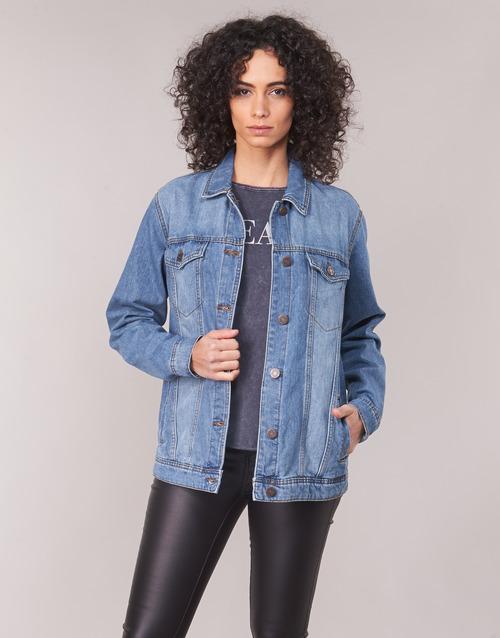 Bleu Noisy Femme Medium En May Nmole Vestes Jean gYb7f6y