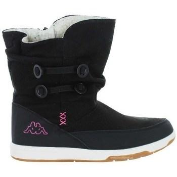 Chaussures Enfant Bottes de neige Kappa Cream Noir