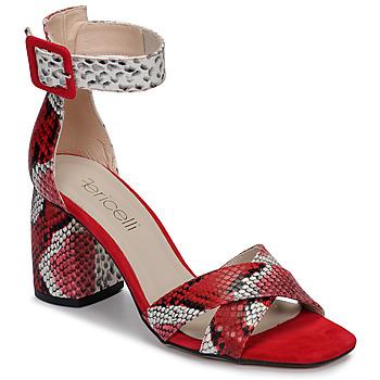 7d5c12d4b83 Chaussures Femme Sandales et Nu-pieds Fericelli JEZI Rouge