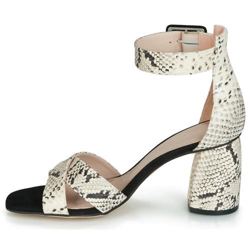 Jezi Nu Et Femme pieds Fericelli BlancNoir Sandales hdsxrtQC
