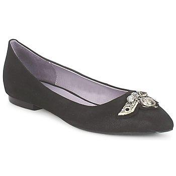 Chaussures Femme Ballerines / babies Couleur Pourpre TIMEA Noir
