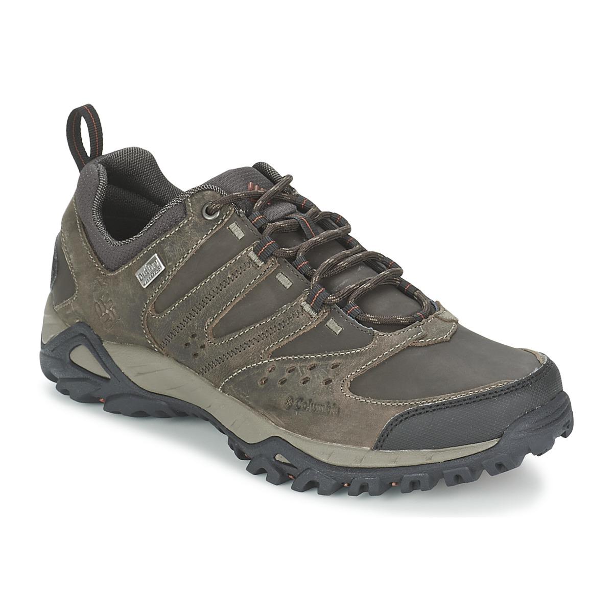 Chaussures-de-randonnee Columbia PEAKFREAK XCRSN LEATHER OUTDRY Terre