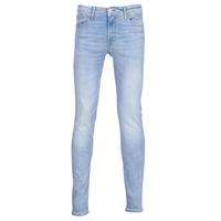 Vêtements Homme Jeans slim Jack & Jones JJILIAM Bleu