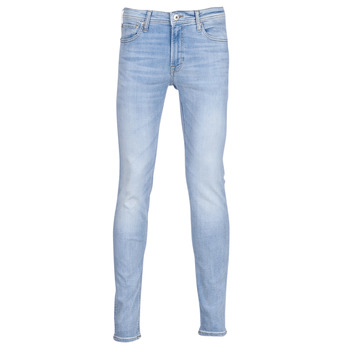 Vêtements Homme Jeans slim Jack & Jones JJILIAM Bleu