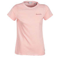 Vêtements Femme T-shirts manches courtes Maison Scotch SS T-SHIRT Rose