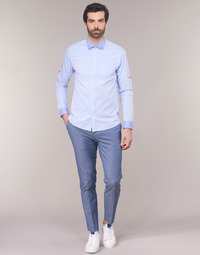 Vêtements Homme Chinos / Carrots Scotch & Soda RALSTONO Bleu