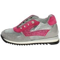 Chaussures Enfant Baskets basses Blumarine C1554 Gris anthracite