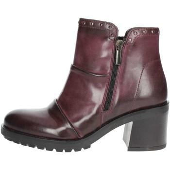 Chaussures Femme Low boots Marko  Marko  857020 Bottines Avec Talons Femme  Bordeaux Bordeaux b490d75abdc