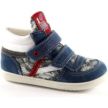 Chaussures Enfant Chaussons bébés Primigi 30322 Les chaussures de bébé bleu déchire milieu premières étap Blu