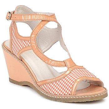 Chaussures Femme Sandales et Nu-pieds Mosquitos HOURA Orange