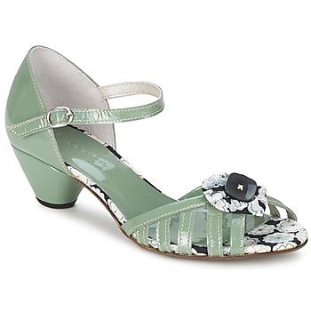 Chaussures Femme Sandales et Nu-pieds Mosquitos AMICALE Vert d'eau