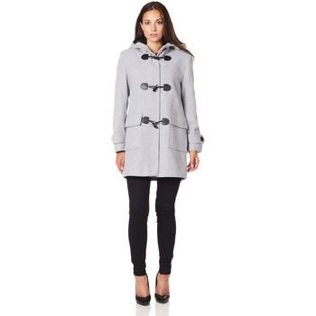 Vêtements Femme Manteaux De La Creme Duffle-coat à d'hiver en laine et cachemire Grey
