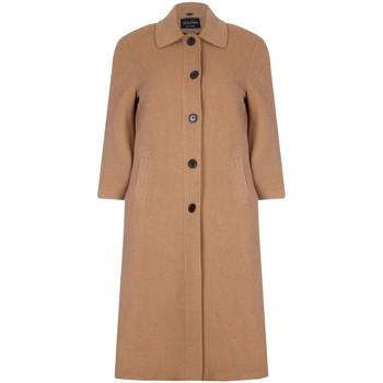 Vêtements Femme Manteaux De La Creme Manteau d'hiver long en laine et cachemire Beige
