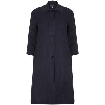 Vêtements Femme Manteaux David Barry Long manteau d'hiver femme en laine et cachemire Gris