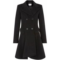 Vêtements Femme Manteaux De La Creme Manteau d'hiver en laine Black