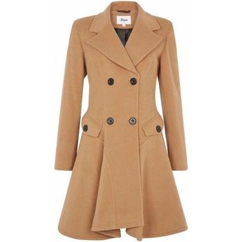 Vêtements Femme Manteaux De La Creme Manteau d'hiver en laine Beige