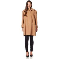Vêtements Femme Manteaux De La Creme Manteau d'hiver en laine et cachemire Swing BEIGE