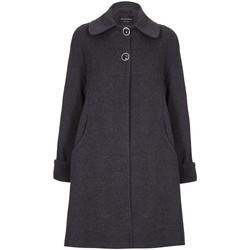 Vêtements Femme Manteaux De La Creme Manteau d'hiver en laine et cachemire Swing Grey