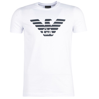Vêtements Homme T-shirts manches courtes Emporio Armani YAYARAL Blanc