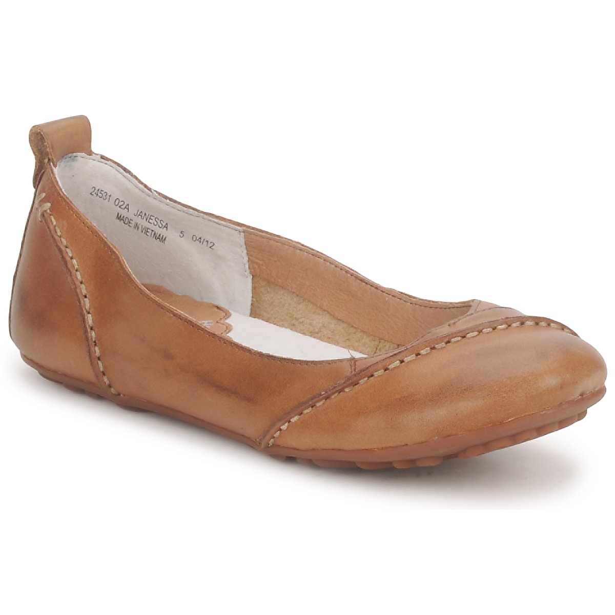 Ballerines Hush puppies JANESSA Marron