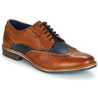 Chaussures Homme Derbies Bugatti TROISCINQ Cognac / Bleu