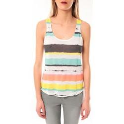 Vêtements Femme Débardeurs / T-shirts sans manche Little Marcel Débardeur Tocada E15FTAN0217 Blanc Blanc