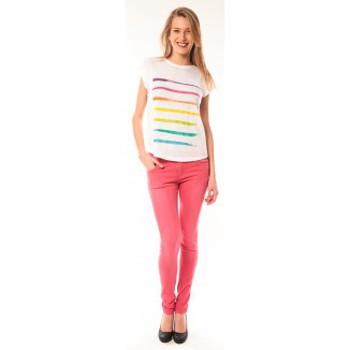 Vêtements Femme T-shirts manches courtes Little Marcel T-shirt E15FTSS0122 Tola Blanc Blanc