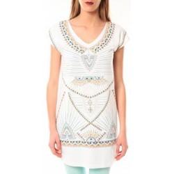 Vêtements Femme T-shirts manches courtes Little Marcel Robe E15WDRE0318 Riolo Blanc Blanc