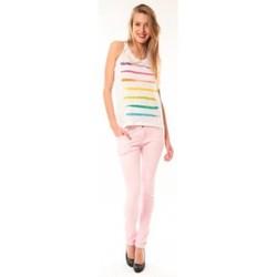 Vêtements Femme Débardeurs / T-shirts sans manche Little Marcel Débardeur Dacola E15FTAN0118 Blanc Blanc