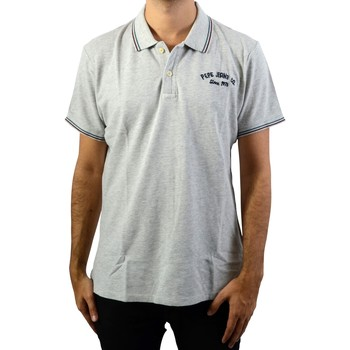 Vêtements Homme Polos manches courtes Pepe jeans Terence Grey Marl