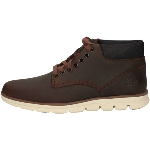 Chaussures Homme Boots Timberland CA1TUZ MARRON