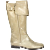 Chaussures Fille Bottes ville Blumarine B4274 Or